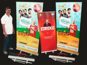 Roll-up Standee: 6 X 3 - Photo print Image