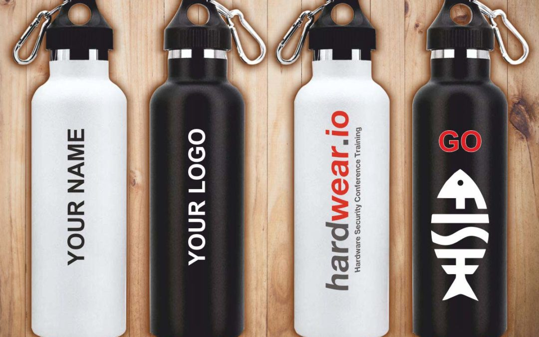 Bottle printing / custom printed sippers – A gift that will be used repeatedly