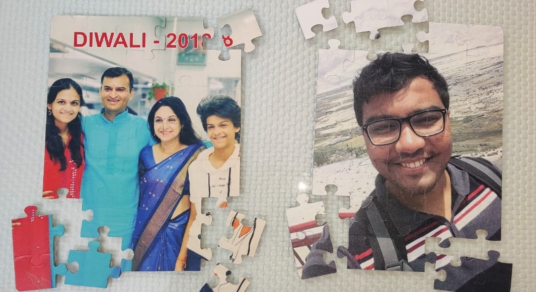 create a low cost but novel and unique gift by printing your family photo on a jigsaw puzzle using a flatbed UV printer